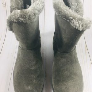 Shoes - Women's Genuine Sueded Boots Sz 11 Gray - NWOTS